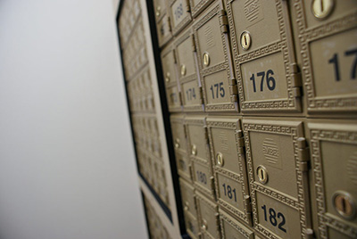 Mailbox Rental Services at Package Manager
